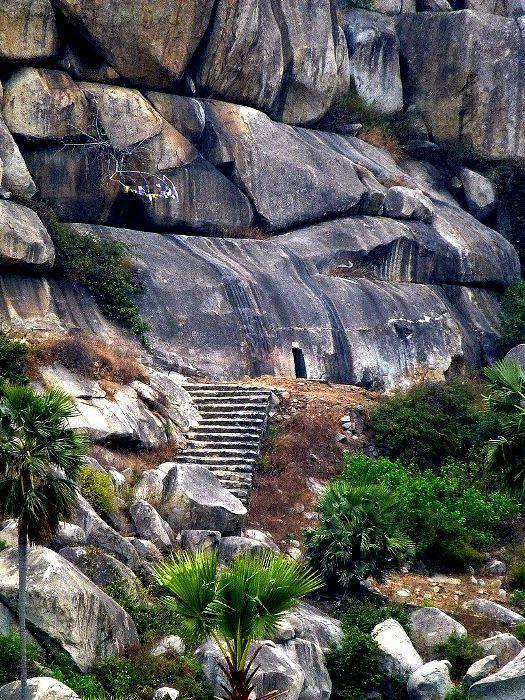 Одни из самых загадочных пещер, оставленных древними цивилизациями. /Фото: wikipedia.org