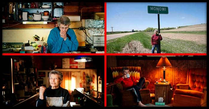 Город с единственной жительницей. /Фото: howmade.ru