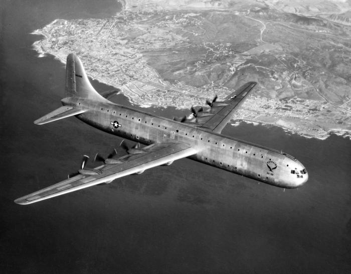 Один из крупнейших самолетов послевоенного времени. /Фото: wikipedia.org