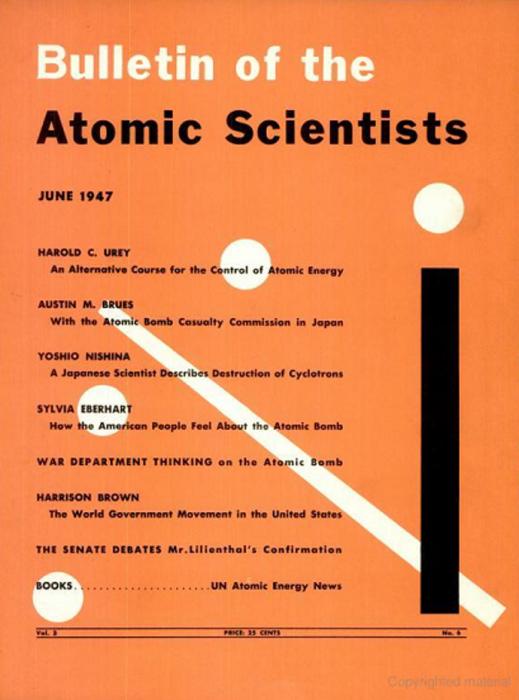 Обложка журнала в 1947 году. /Фото: birdinflight.com