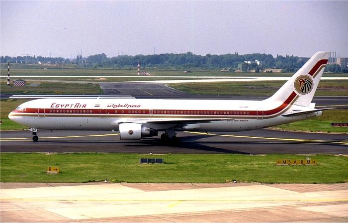 Упавший самолет за несколько лет до крушения. /Фото: wikiрedia.org