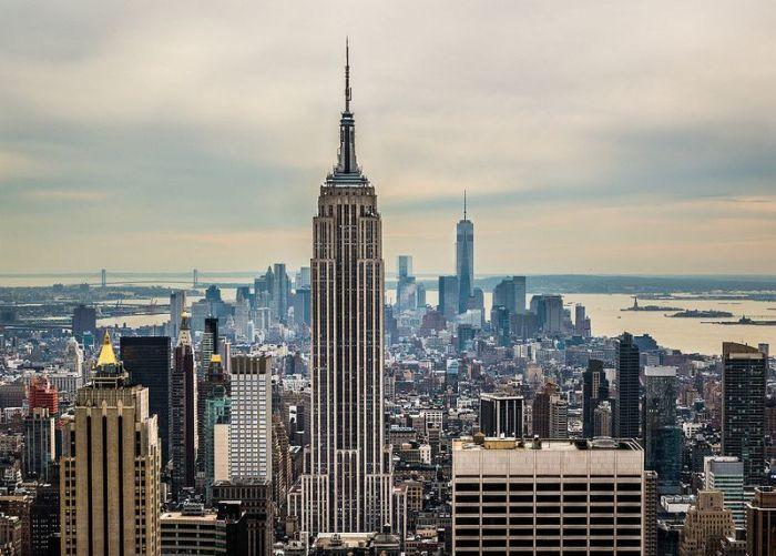 Самый известный небоскреб со стальным скелетом. /Фото: bashni.info