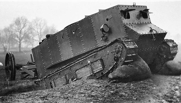 Танк, который и не совсем танк.  /Фото: taringa.net
