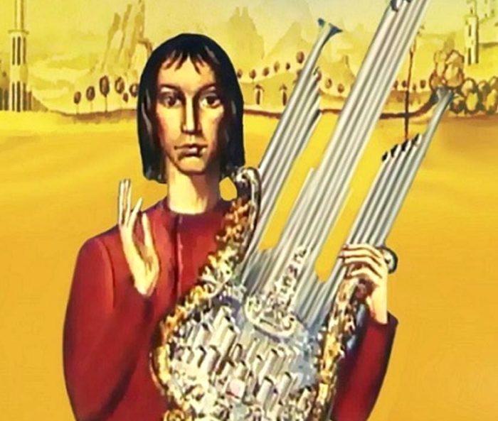 В реальности этот музыкальный инструмент выглядит совсем не как в знаменитом советском мультфильме. /Фото: klassiki.online