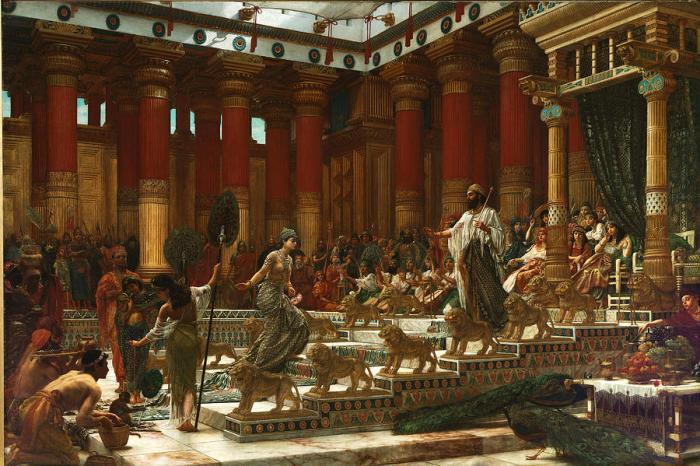 Арт на тему, как мог бы выглядеть легендарный трон Соломона. /Фото: amazonaws.com