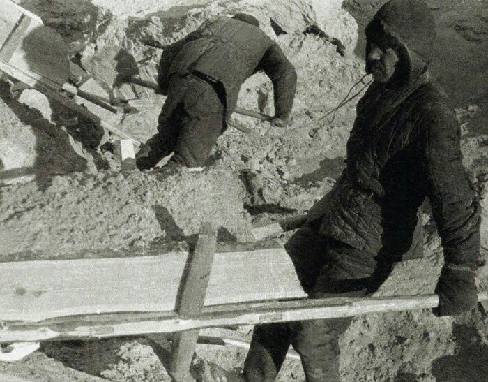 Строительство Беломорканала не обошлось без стеганых ватных курток. /Фото: fishki.net
