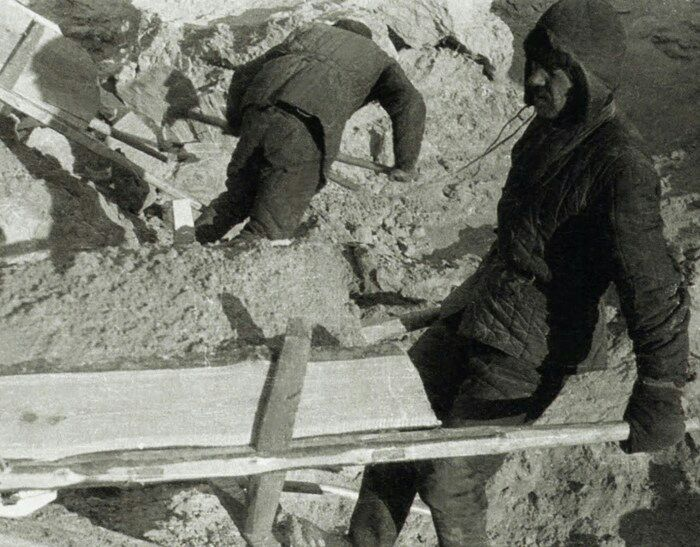 Строительство Беломорканала не обошлось без ватника. /Фото: fishki.net