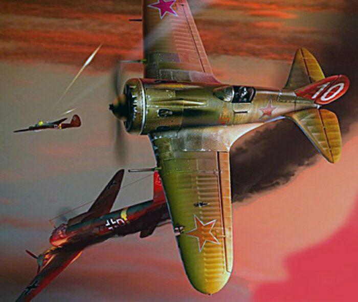 В небе над Испанией. /Фото: pro-samolet.ru
