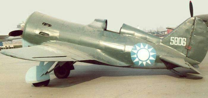 Боевые задачи И-16 на в борьбе с японцами были весьма успешными. /Фото: opoccuu.com
