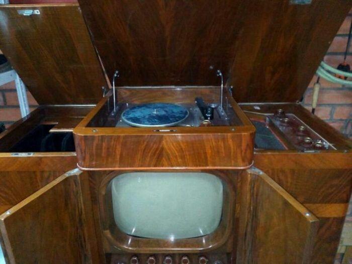 Послевоенная установка 3 в 1. /Фото: back-in-ussr.com