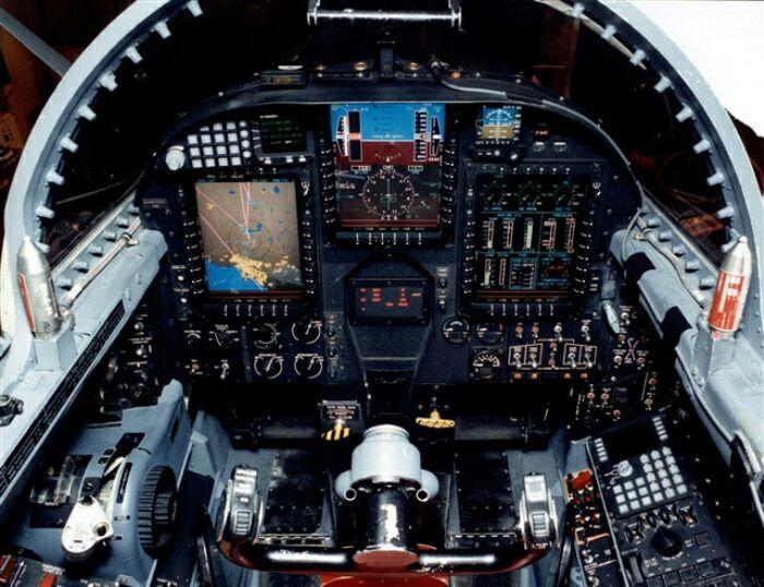 Кабина летчика. /Фото: wikipedia.org