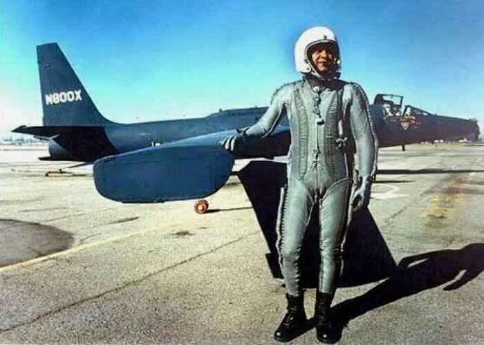 Американский лётчик Френсис Пауэрс. /Фото: news.rambler.ru