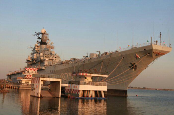 Авианосец «Киев» был одним из утраченных кораблей советского флота. /Фото: globallookpress.com