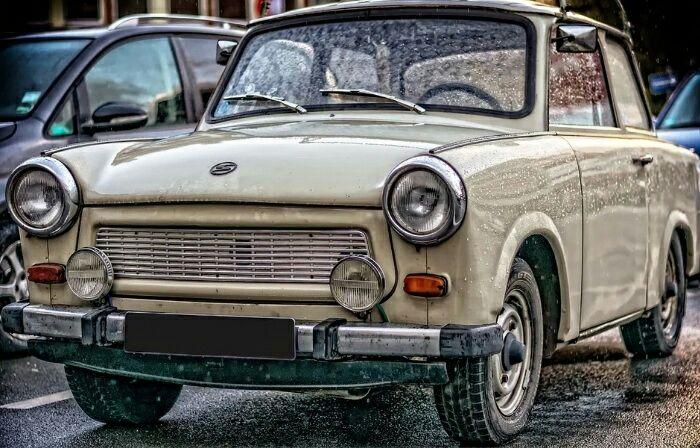 Необычный автомобиль с интересной судьбой. /Фото: pikabu.ru