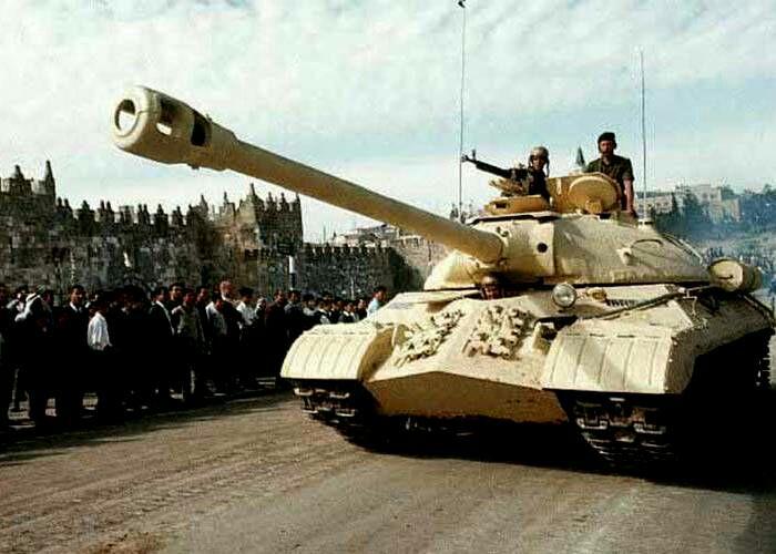ИС-3, захваченный израильтянами. /Фото: voennoe-obozrenie.ru