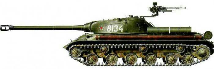 Советский сверхтяжёлый танк Иосиф Сталин-3. /Фото: topwar.ru