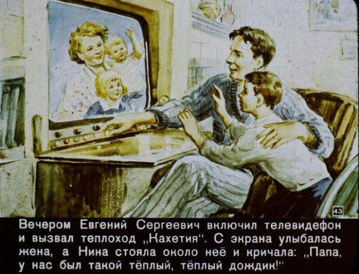 Skype предугадали ещё в 1960 году. /Фото: vk.com