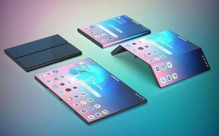 Триумфальный Samsung Galaxy Fold. /Фото: pru.ua