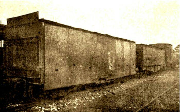 Типичный вагон испанского бронепоезда. /Фото: naulatehnika.com