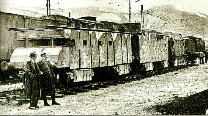Испанский бронепоезд К. /Фото: livejournal.com