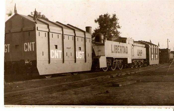 Libertad - один из самых известных поездов того периода. /Фото: pinterest.com