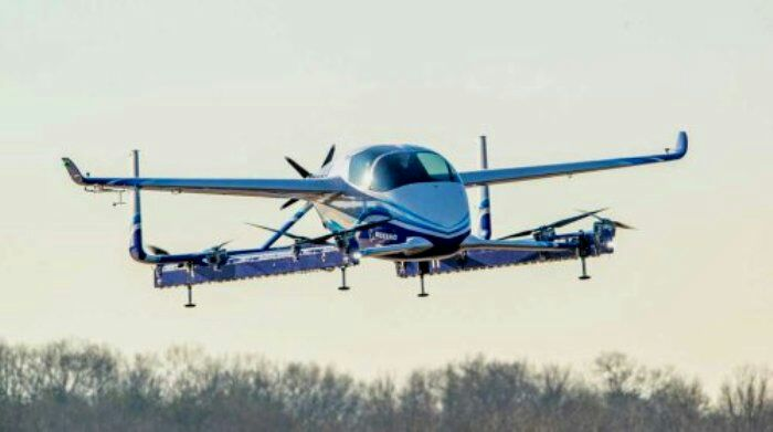 Летающий аппарат EVTOL от Boeing. /Фото: enn.com