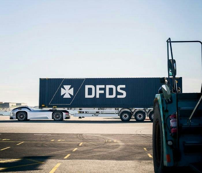 Сейчас Volvo совместно с DFDS испытывают новые грузовики. /Фото: dailytechinfo.org