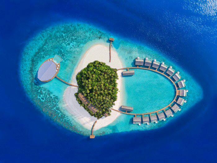 Новый туристический комплекс занял целый остров. /Фото: securesernercdn.com