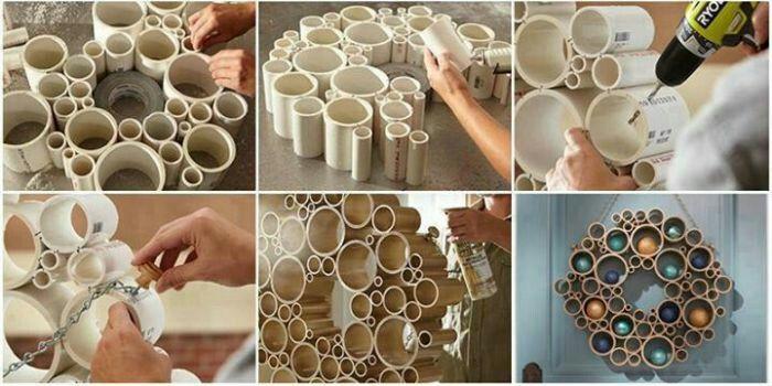 Втулка от туалетной бумаги может стать элементом декора. /Фото: liveinternet.ru
