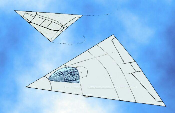 Самолёт La 2000. /Фото: genezis.eu