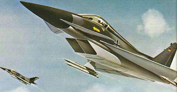 Так выглядел TFK-90 в представлены немецких авиаконструкторов./Фото: alternathistory.com