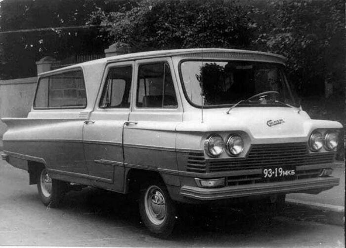 Микроавтобус получился футуристичный. /Фото: drive.ru