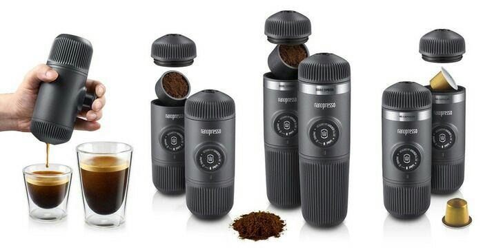 И на роботе, и в походе - со свежим кофе. /Фото: wacaco.com