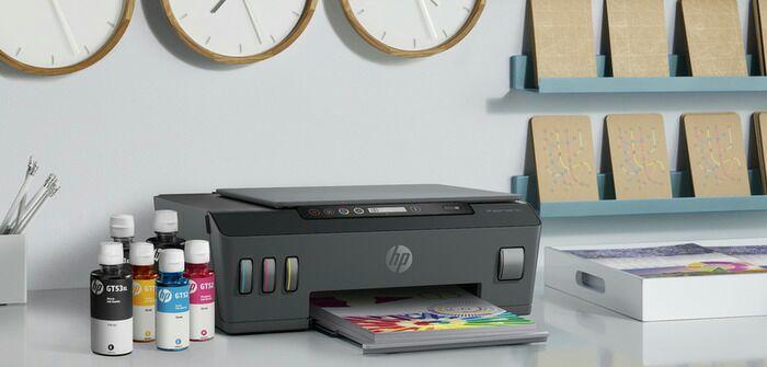 Принтер с самой современной системой заправки чернил. /Фото: tadviser.ru