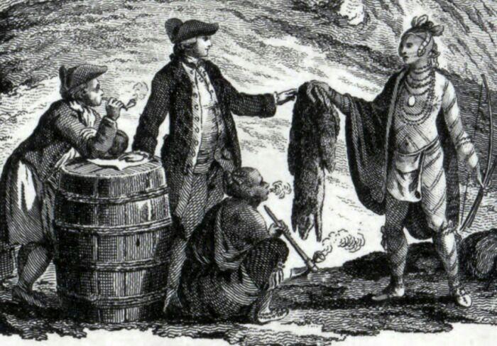 Бобровые шкуры были желанным товаром среди европейцев. /Фото: swf.so