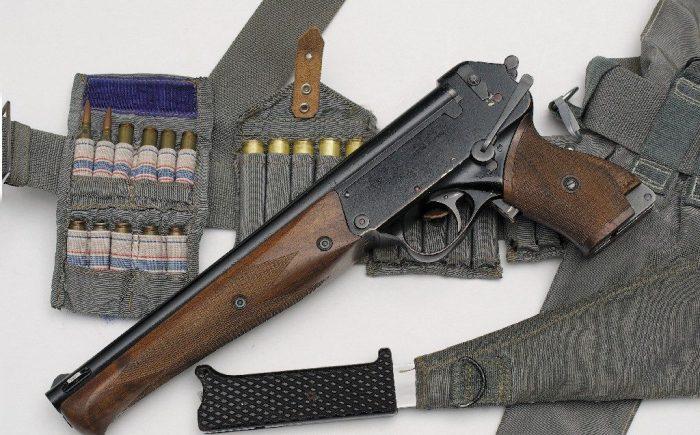 Советский пистолет космонавта. /Фото: kalashnikov.ru
