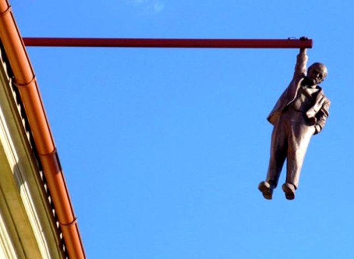 Зигмунд Фрейд не мог быть увековечен как все. /Фото: jvlife.ru