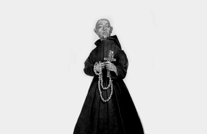Испанский не совсем живой монах. /Фото: pinterest.com