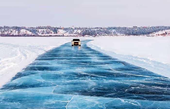 С появлением моста больше не придется рисковать собой, проезжая по зимнику. /Фото: kommersant.ru