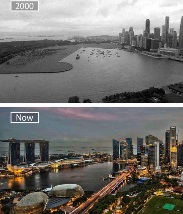 Сингапур - образец урбанизации. /Фото: reddit.com
