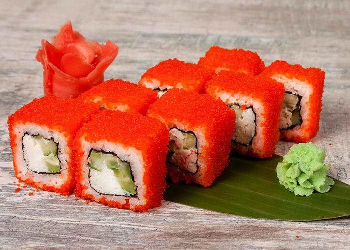 Калифорния - все-таки не Япония. /Фото: sushi-v-dom.ru