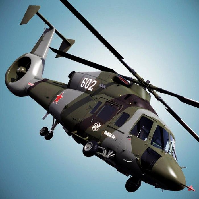 Вертолет, время которого так и не пришло. /Фото: turbosquid.com
