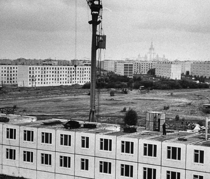 Хрущёвка - апогей экономии на строительстве. /Фото: bigpicture.ru