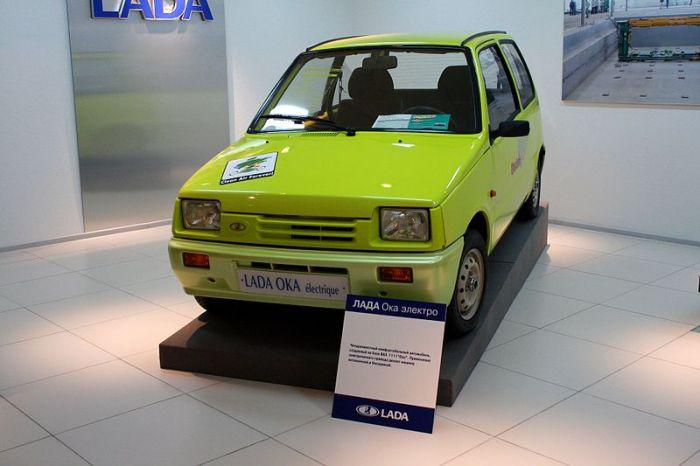 Из Оки также пытались сделать электромобиль. /Фото: wikipedia.org