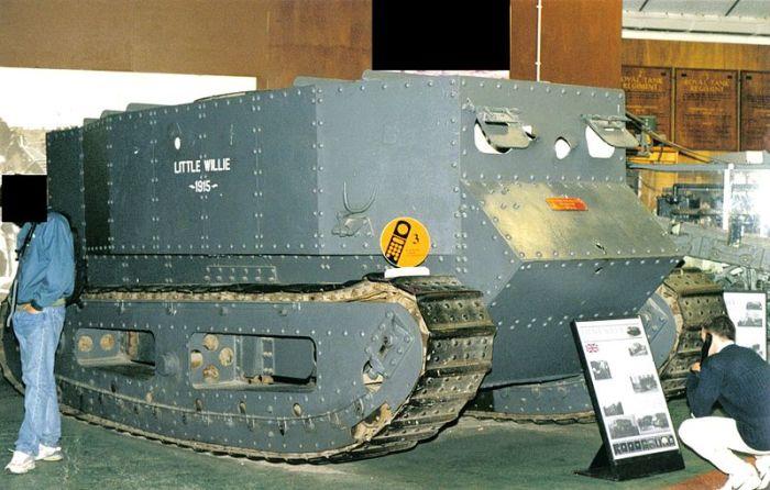 Маленький Вилли в музейной экспозиции. /Фото: wikipedia.org