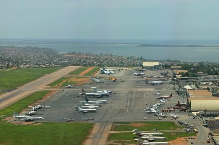 Аэропорт в Луанде, где самолет видели в последний раз. /Фото: avia2.ru