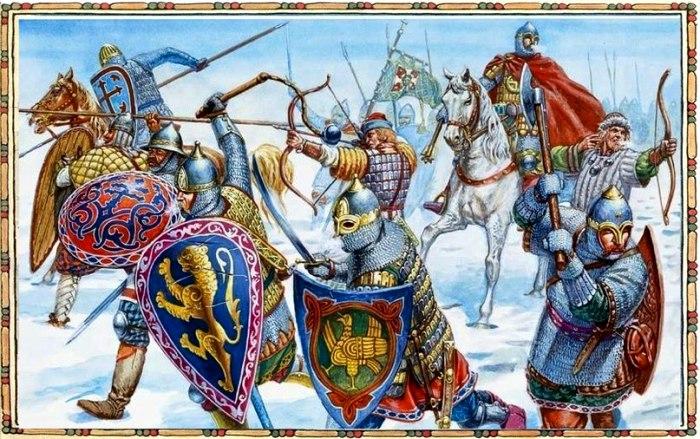 Русский боевой лук не уступал копью в эффективности во время боя. /Фото: vk.com
