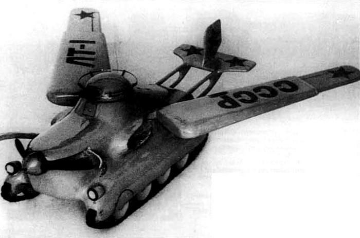 На одном из крыльев расположена аббревиатура ЛТ-1 - «летающий танк-1». /Фото: wikiрedia.org