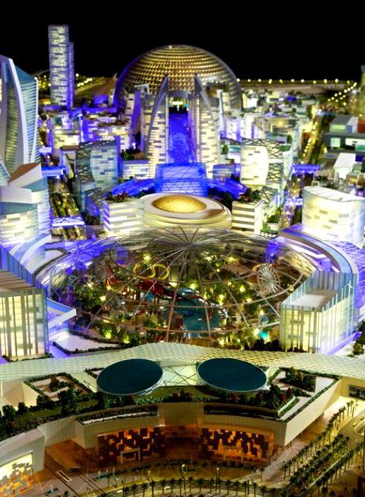 Новый город под куполом уже планируют построить в ОАЭ. /Фото: minfin.com.ua