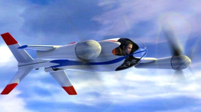 Самый современный концепт летательного аппарата. /Фото: nauka.boltai.com